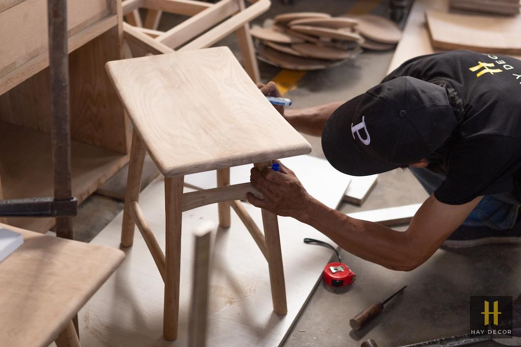 sản xuất nội thất gỗ theo yêu cầu