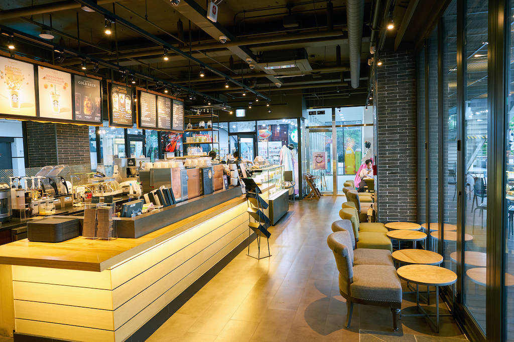 thiết kế thi công shop bán lẻ, quán cafe