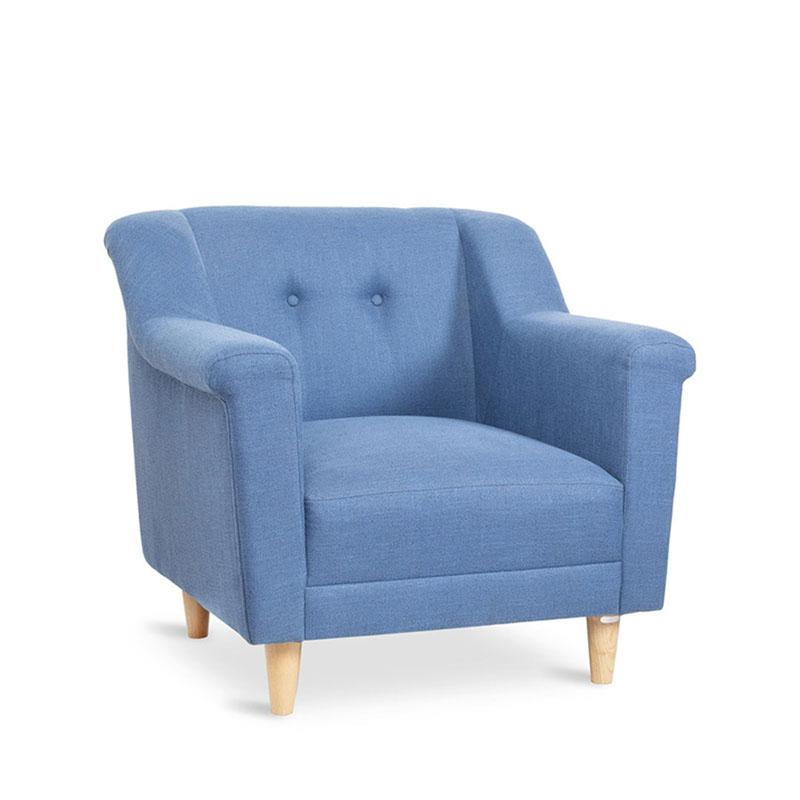 ghế bành finn blue