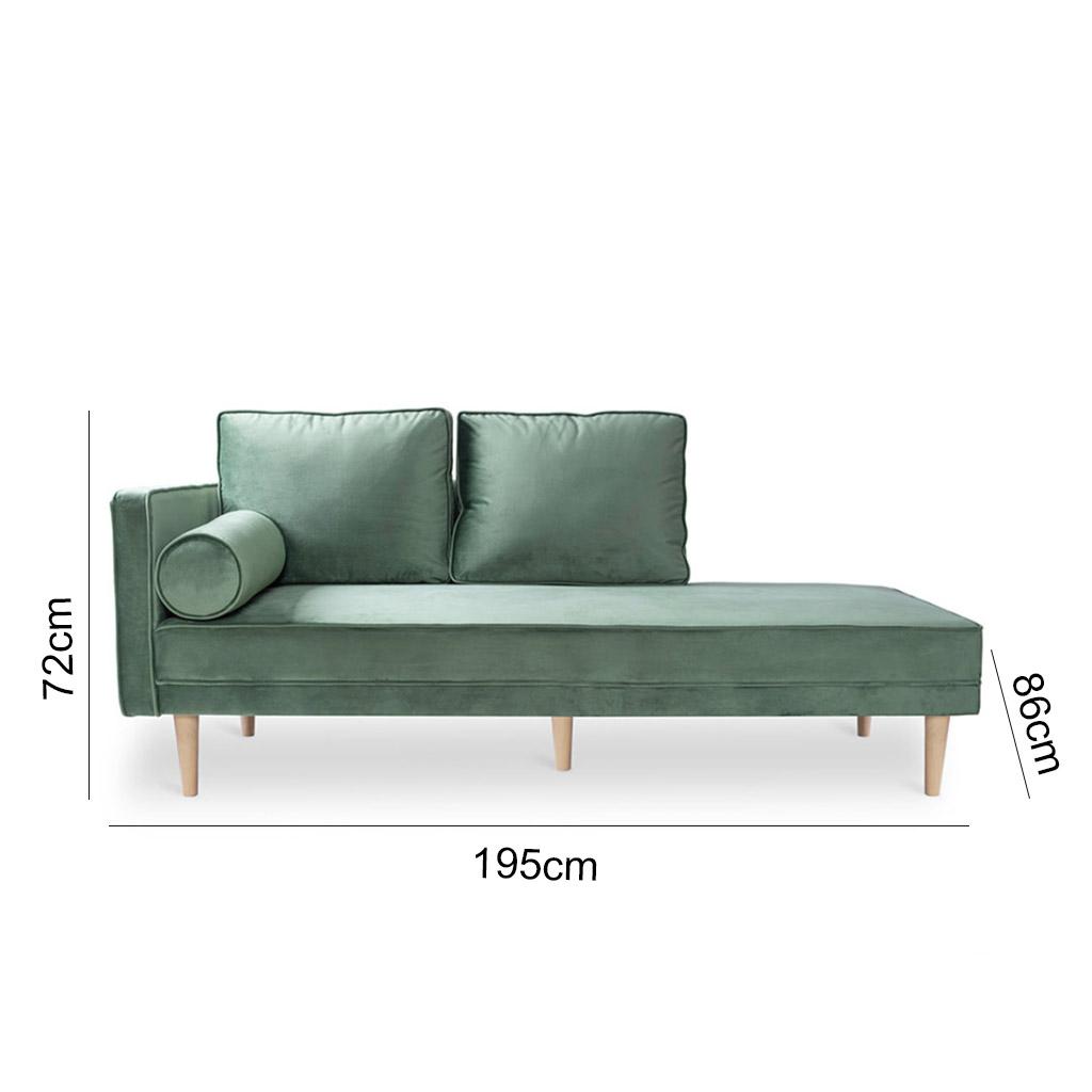 sofa MONROE DAYBED Green