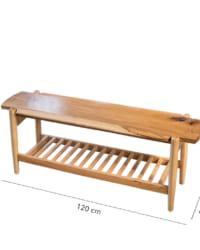 ghế băng gỗ