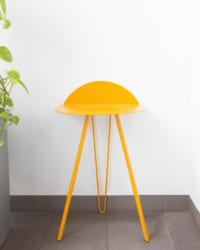 Bàn góc dựa tường SHAFT Yellow