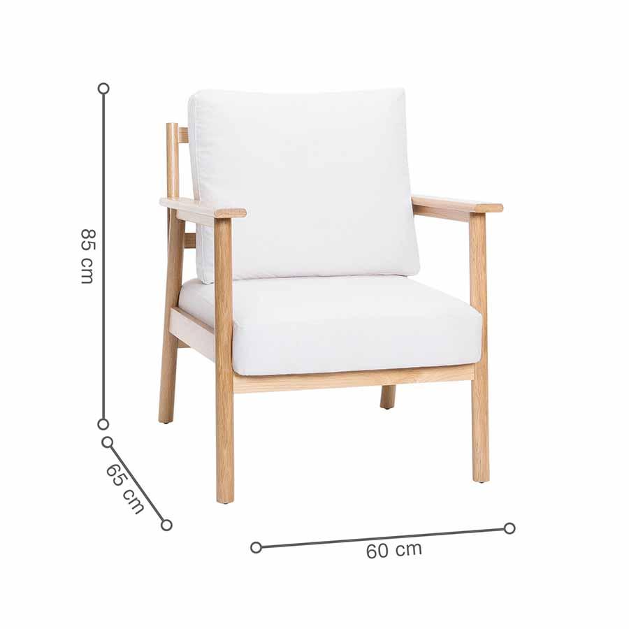 kích thước ghế TAKA
