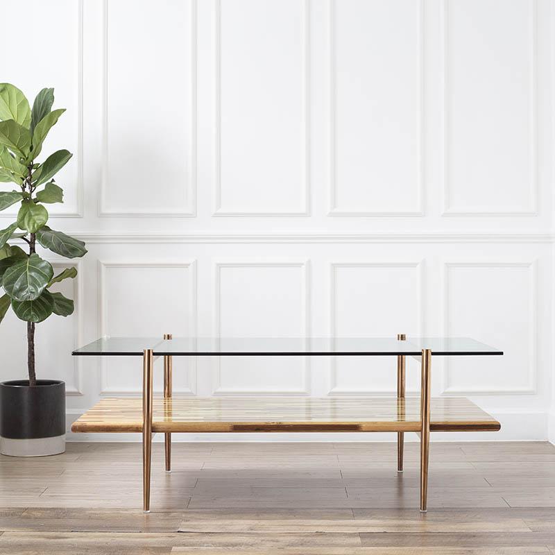 Với 2 mặt bàn song song cá tính, BALIAN có thể tối ưu công năng và tiết kiệm diện tích sàn cho không gian.