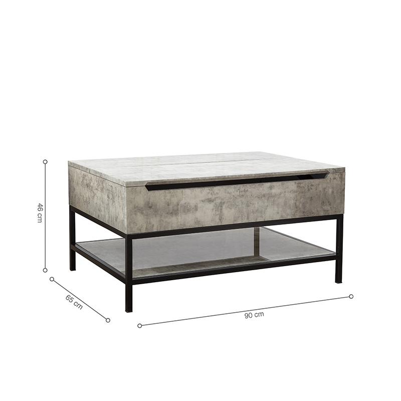 Kích thước bàn vừa phải, thuận tiện đặt trong nhiều không gian mà vẫn đem lại công năng tuyệt đối cho người dùng.
