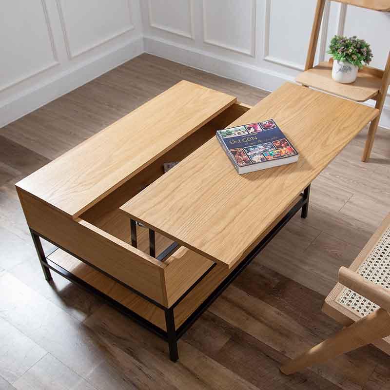 Hộc bàn bên trong rộng, chứa được nhiều vật dụng cần thiết, rất hữu ích cho việc tối giản không gian trên mặt bàn.