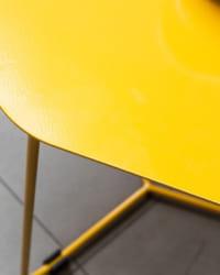 Mặt bàn góc HEXAGON Yellow