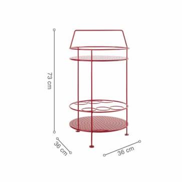 Kích thước bàn FERMO Red