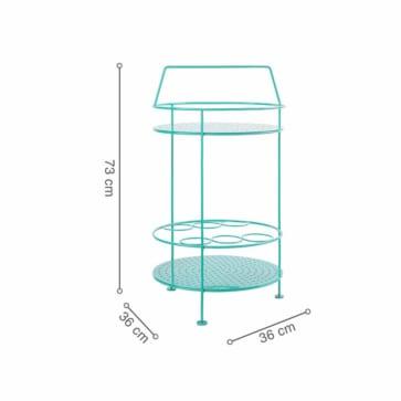 Kích thước bàn FERMO Teal