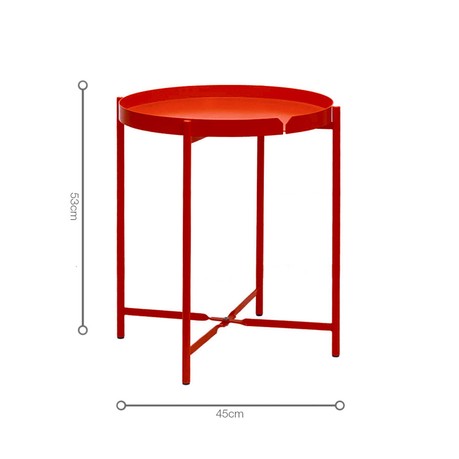 CANNES Red sở hữu kích thước nhỏ gọn hiện đại, đặt được trong nhiều không gian khác nhau.