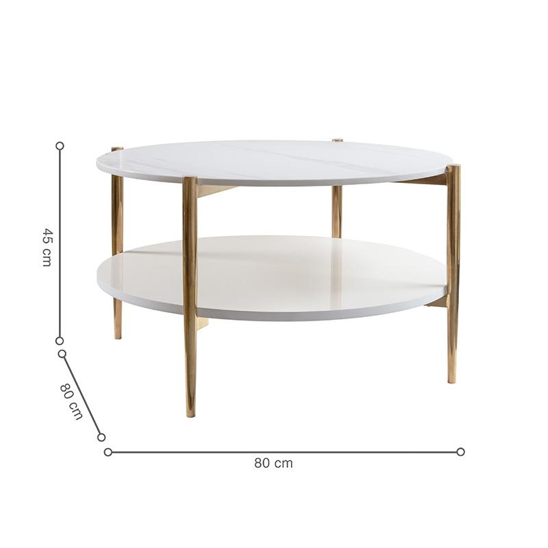 Bàn BALIAN với 2 mặt bàn có kích thước như nhau, giúp tối ưu công năng, sử dụng thoải mái.