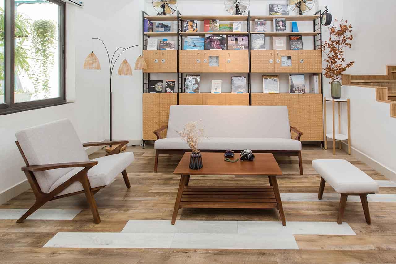 sofa PATIO vải bố