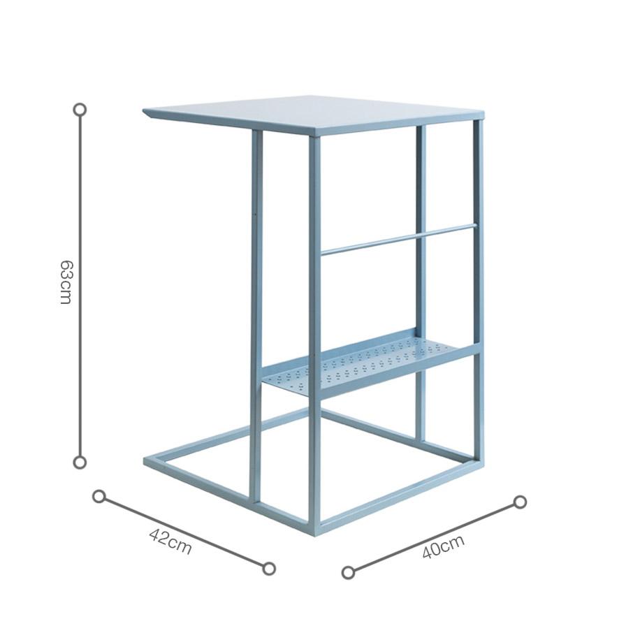 bàn góc chữ C HILTI Blue