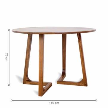 Kích thước bàn RONDE