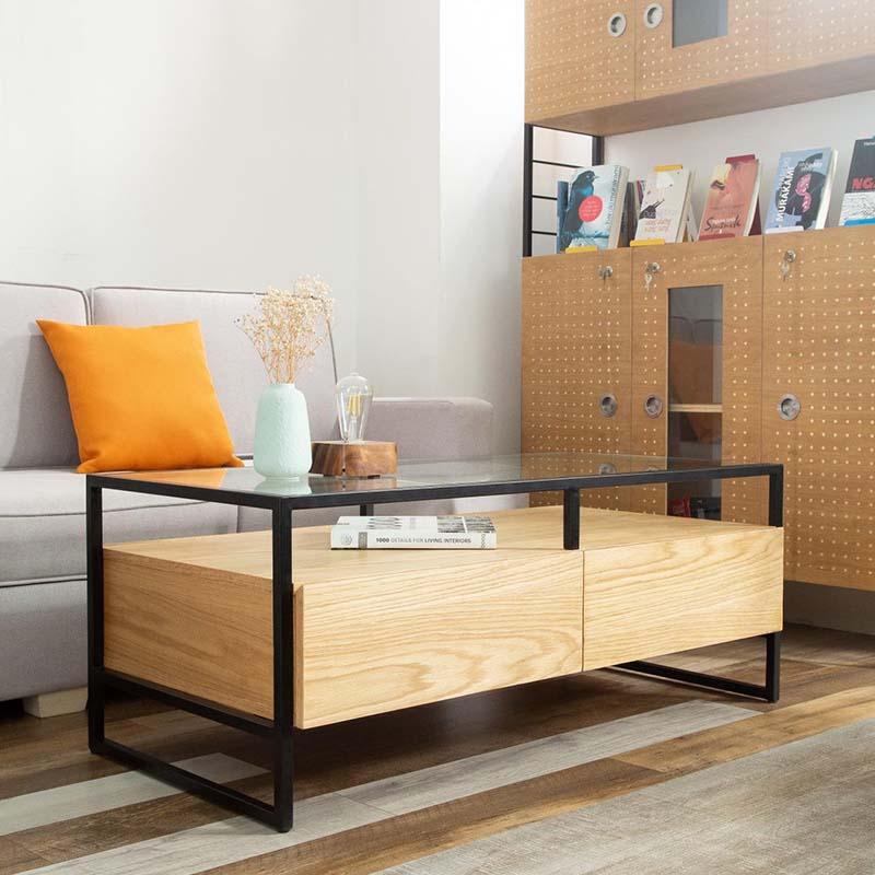 Thiết kế độc đáo, hiện đại, bàn cafe KYRA thích hợp trong nhiều không gian khác nhau.