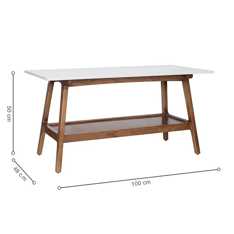Kích thước bàn rộng, tiện lợi và tối ưu công năng sử dụng.