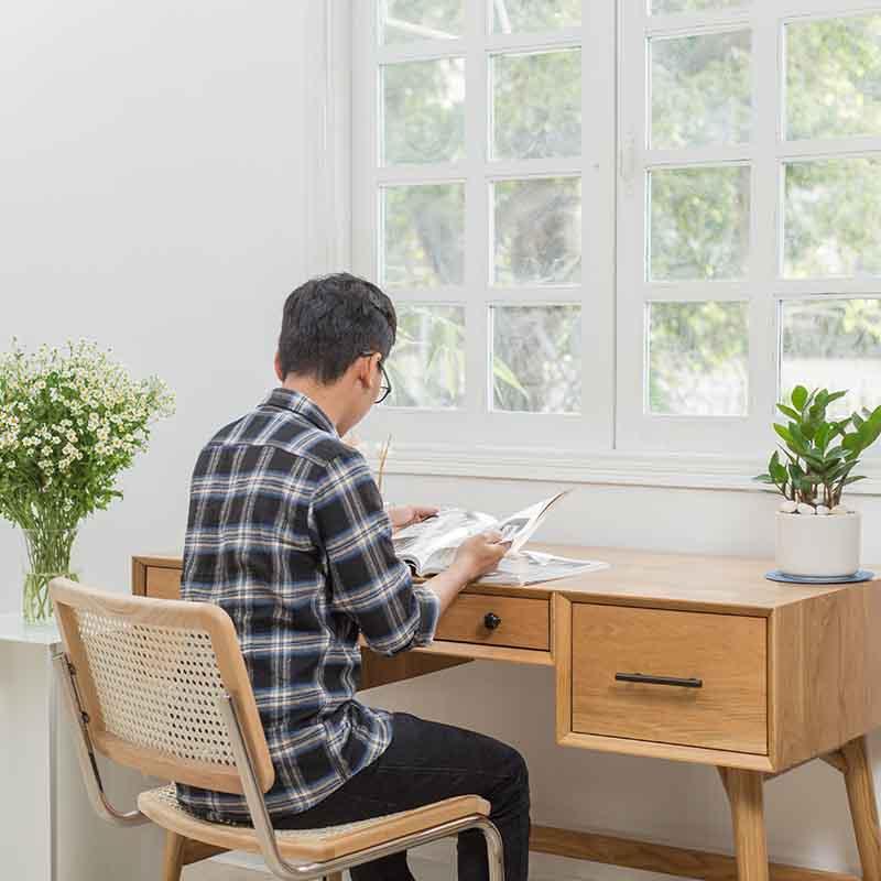 Thiết kế kích thước và kiểu dáng hướng đến sự tiện lợi cho người ngồi.