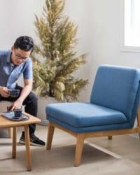 ghế slipper cora