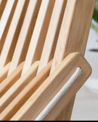 ghế xếp gỗ sồi