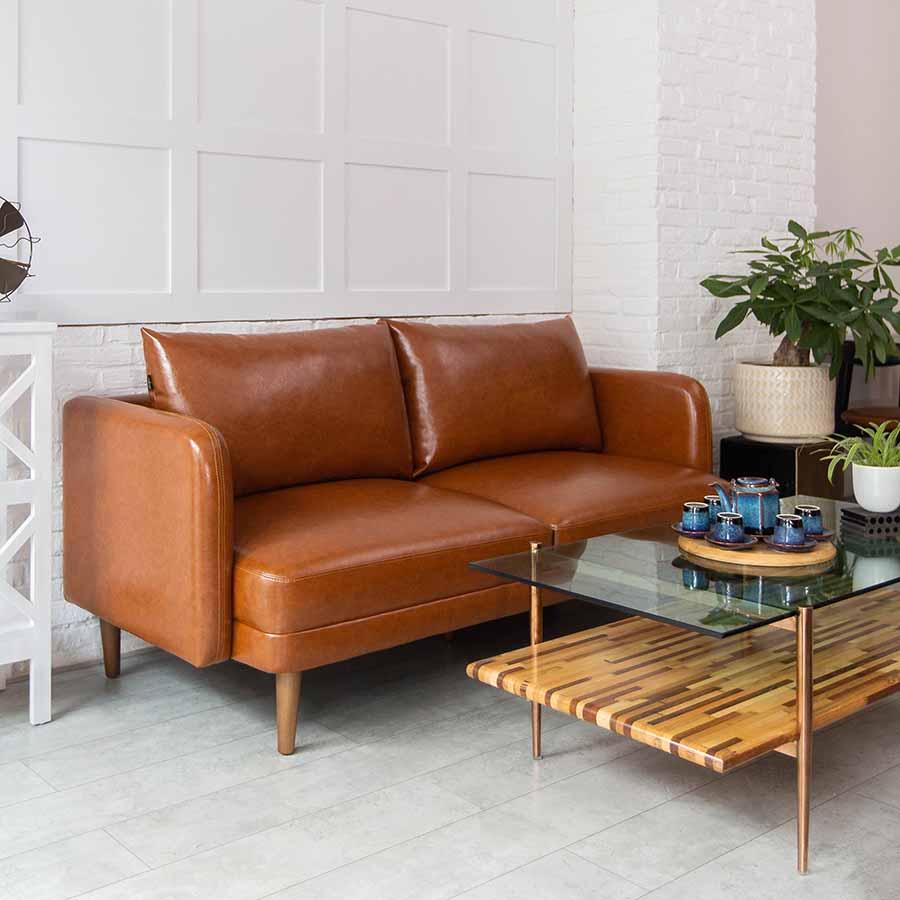 5 mẫu sofa da nhỏ đẹp của HAY
