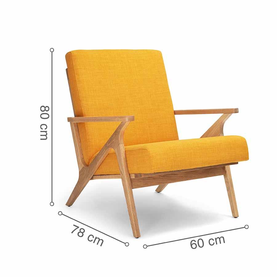 ghế bành PATIO vàng
