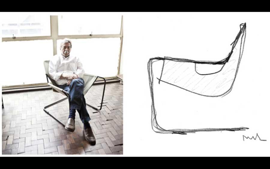 Rocha với mẫu thiết kế mang đến sự dễ chịu khi ngồi, một cảm giác như chu du giữa nơi không trọng lực