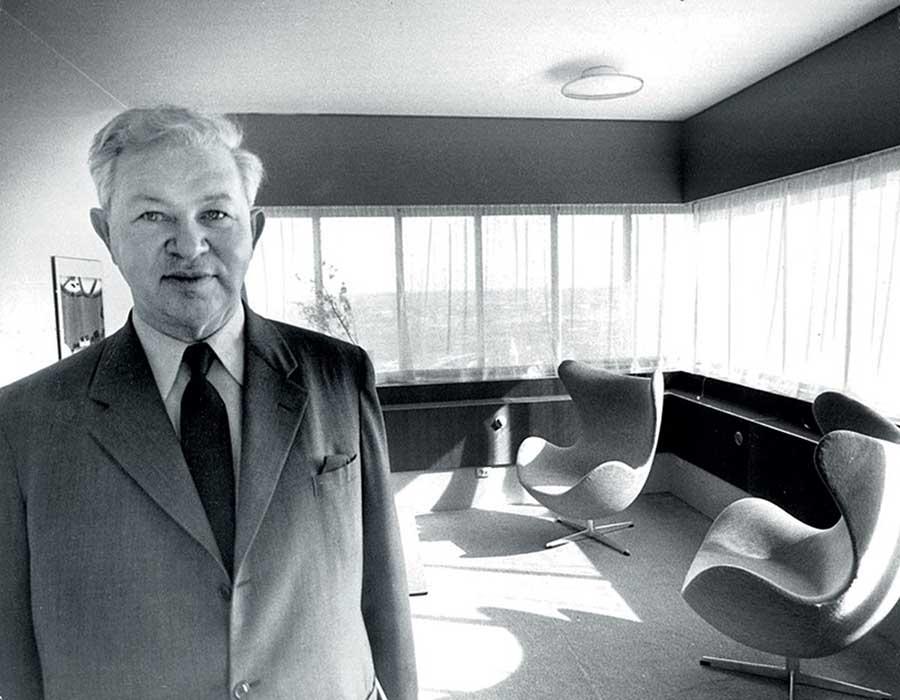 Arne Jacobsen và thiết kế tuyệt vời của mình