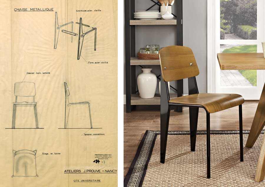 Mẫu ghế đơn giản từ chất liệu đến kết cấu nhưng có sức sống mạnh mẽ, một vẻ đẹp vượt thời gian