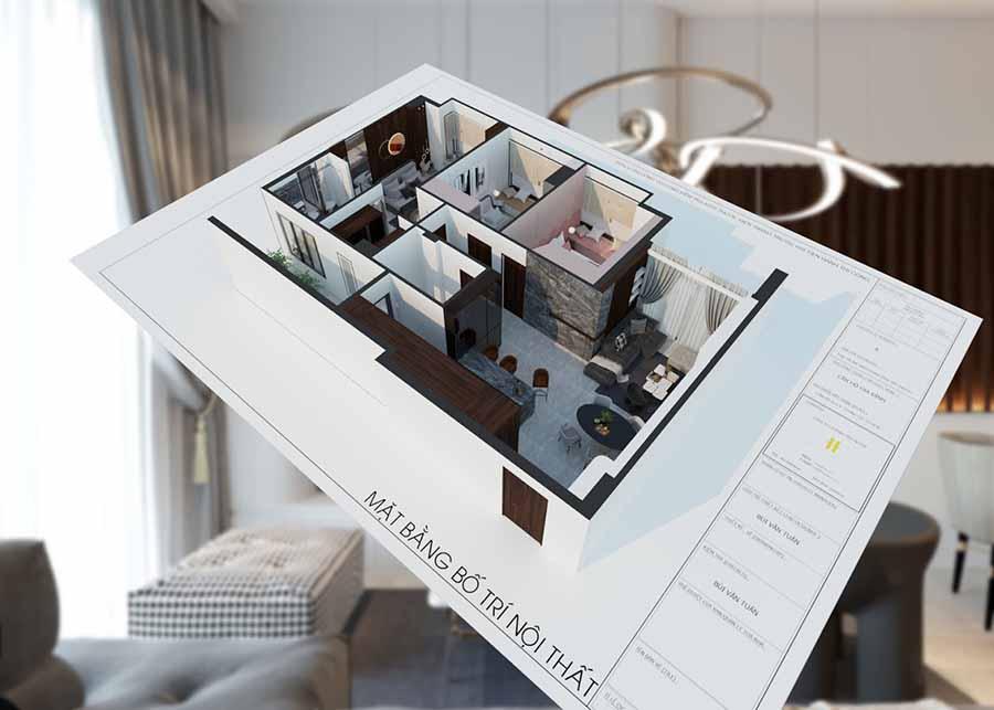 Không gian sắp xếp hợp lý sẽ mang đến sự tiện nghi và thoải mái nhất ngay cả với nhà nhỏ