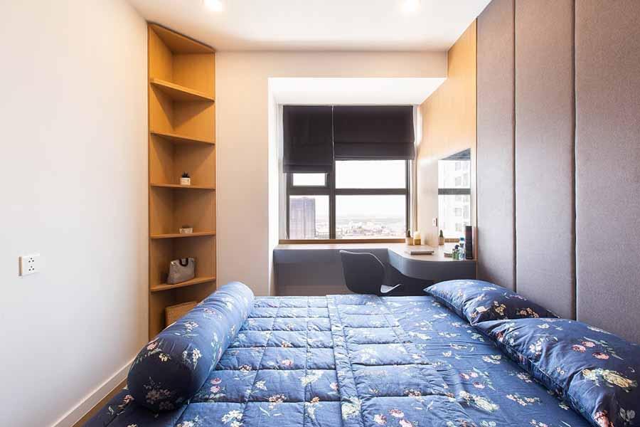Sử dụng giường tủ nhỏ gọn, thông minh