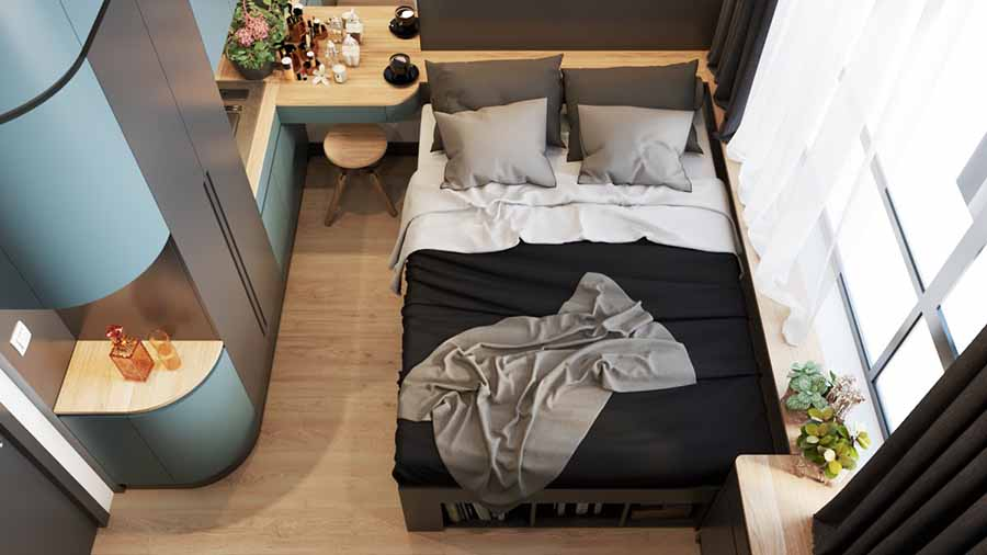 Ưu tiên nguồn sáng tự nhiên cho phòng ngủ