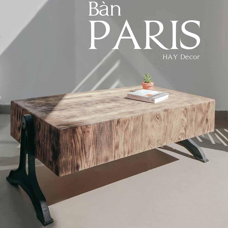 BÀN PARIS thanh lịch
