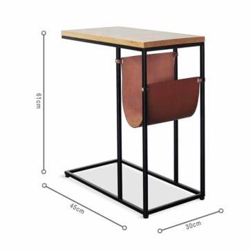Kích thước bàn KARINA Oak