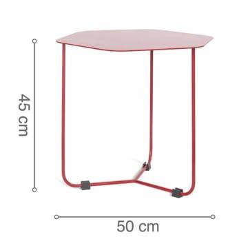 Kích thước bàn HEXAGON Red