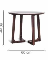 Kích thước bàn ăn RONDE D600