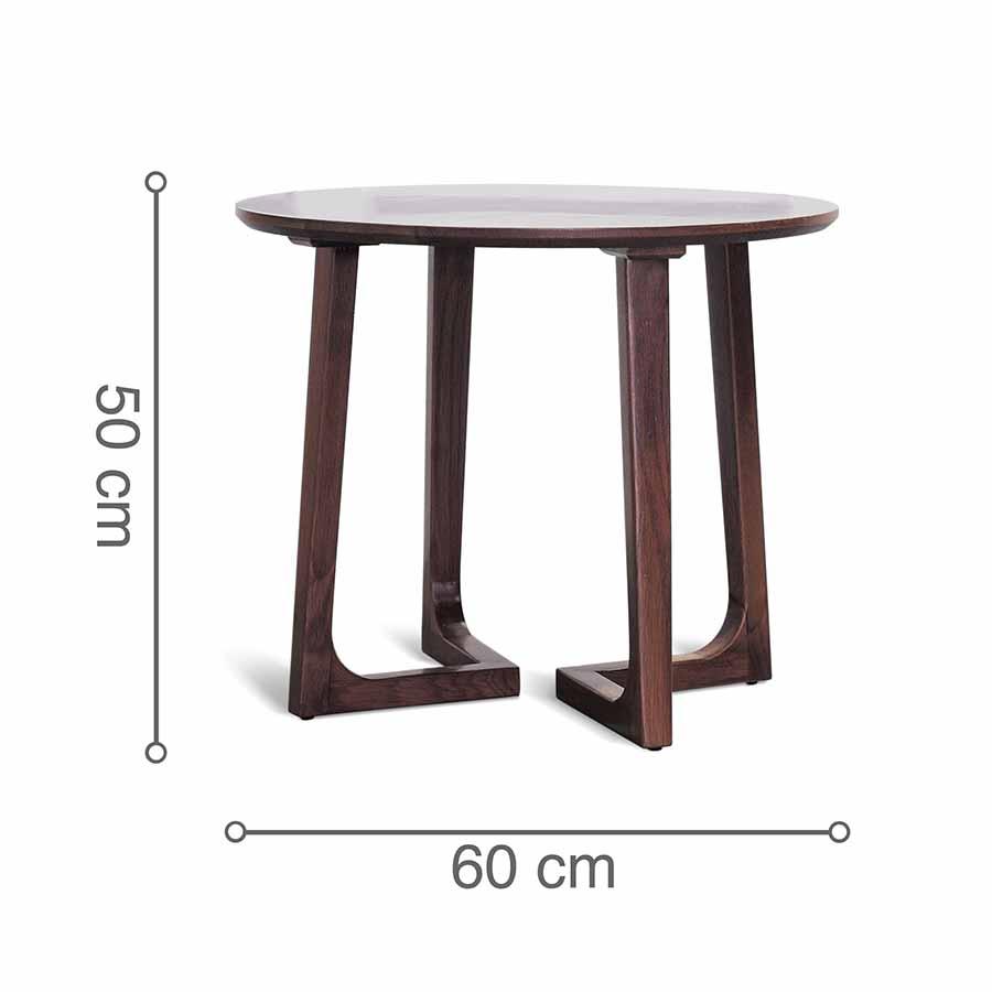 Kích thước bàn cafe RONDE D600