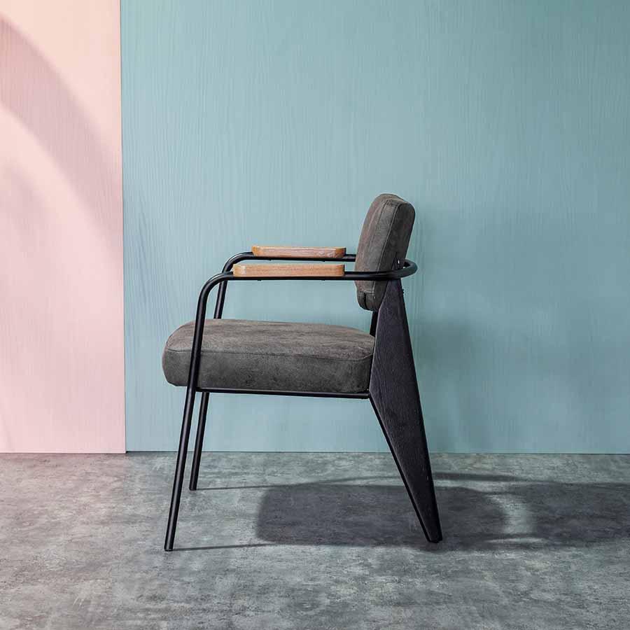 ghế fauteuil direction black