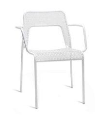 Ghế armchair WADE White